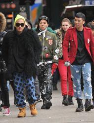 [FOTOS]BIGBANG en la grabación de su nuevo MV enNY