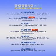 YG Life Update:Canciones principales para BIGBANGALIVE